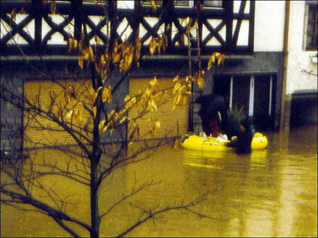 Hochwasser Kobern